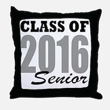 Class of 2016 (senior) Throw Pillow
