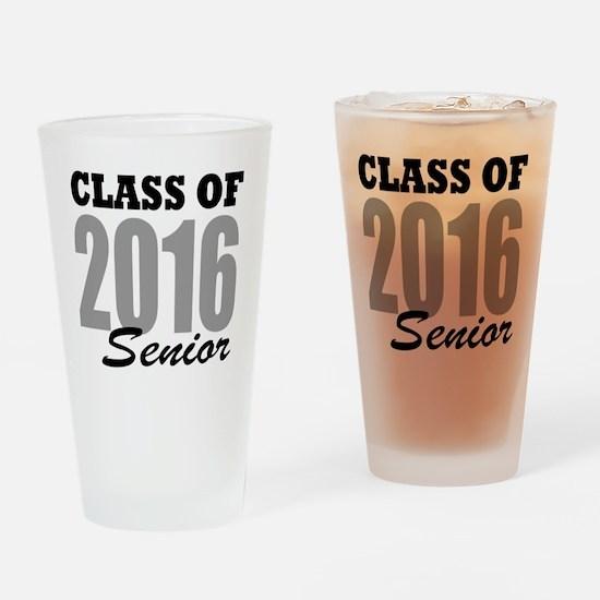 Class of 2016 (senior) Drinking Glass
