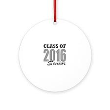 Class of 2016 (senior) Round Ornament