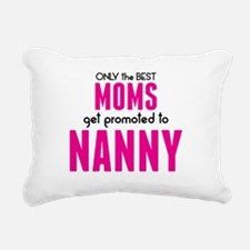 BEST MOMS GET PROMOTED TO NANNY Rectangular Canvas