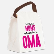 BEST MOMS GET PROMOTED TO OMA Canvas Lunch Bag