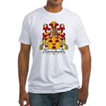Lemarchand Family Crest  Fitted T-Shirt