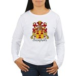 Lemarchand Family Crest  Women's Long Sleeve T-Shi