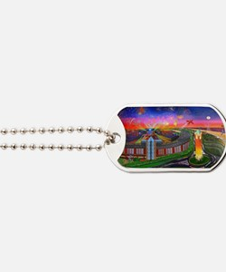Jones Beach Theatre with Fireworks Dog Tags