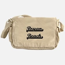 Bryan Beach Classic Retro Design Messenger Bag
