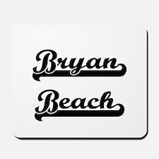 Bryan Beach Classic Retro Design Mousepad