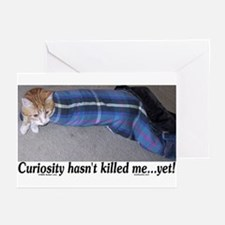 Curiosity Hasn't Killed Me Yet Greeting Cards (Pac