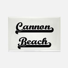 Cannon Beach Classic Retro Design Magnets