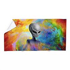 Alien Prism Nebula ~ Beach Towel