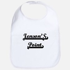 Jenson'S Point Classic Retro Design Bib