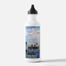Jones Beach Boardwalk Water Bottle