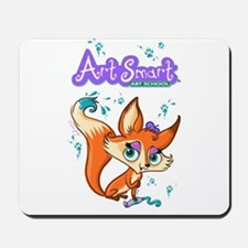 Art Smart fox Mousepad