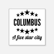 Columbus A Five Star City Sticker