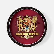 Antwerpen COA Wall Clock