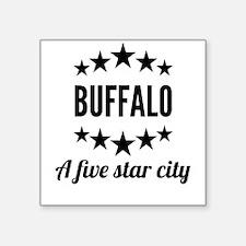 Buffalo A Five Star City Sticker