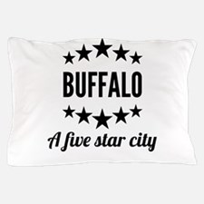 Buffalo A Five Star City Pillow Case