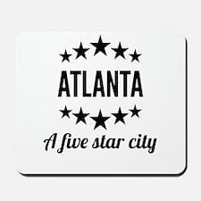 Atlanta A Five Star City Mousepad