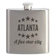 Atlanta A Five Star City Flask