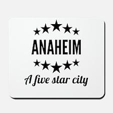 Anaheim A Five Star City Mousepad