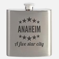Anaheim A Five Star City Flask