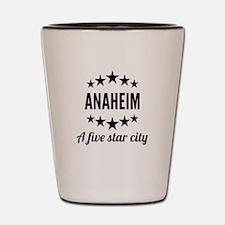 Anaheim A Five Star City Shot Glass