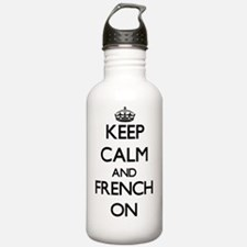 Keep Calm and French O Water Bottle