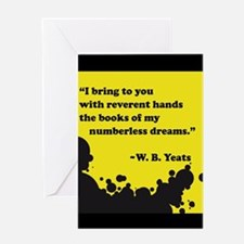 Books of numberless dreams Greeting Cards