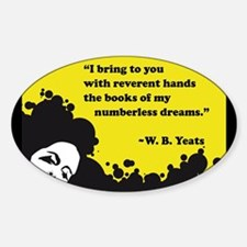 Books of numberless dreams Decal
