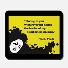 Books of numberless dreams Mousepad