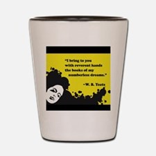 Books of numberless dreams Shot Glass