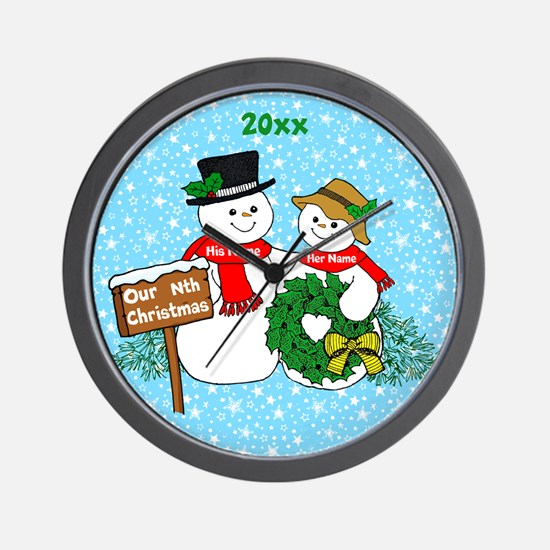 Our Nthe Christmas Wall Clock