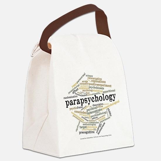 Parapsychology Wordle Canvas Lunch Bag