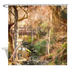 Secret Creek Shower Curtain
