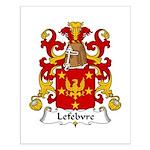 Lefebvre Family Crest   Small Poster