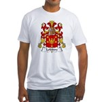 Lefebvre Family Crest   Fitted T-Shirt
