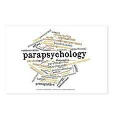 Parapsychology Wordle Postcards (Package of 8)