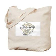 Parapsychology Wordle Tote Bag