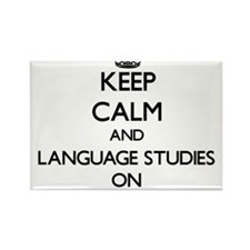 Keep Calm and Language Studies ON Magnets