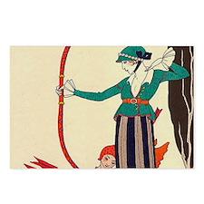 Barbier LARCROUGE - 1914 Postcards (Package of 8)