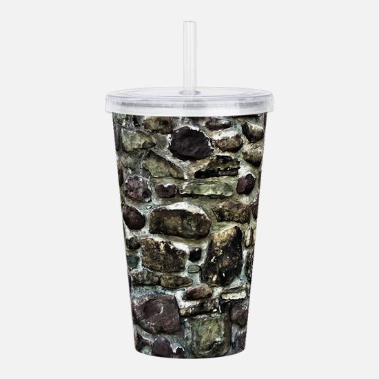Stone Wall Acrylic Double-wall Tumbler