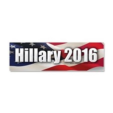 """Hillary 2016"" Car Magnet 10 x 3"