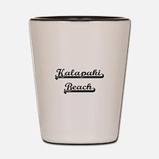 Kalapaki Beach Classic Retro Design Shot Glass