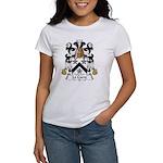 LeCorre Family Crest Women's T-Shirt