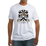 LeCorre Family Crest  Fitted T-Shirt