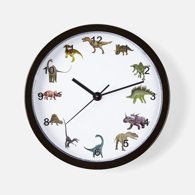 Dinosaur Clocks Dinosaur Wall Clocks Large Modern