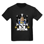 LeConte Family Crest  Kids Dark T-Shirt
