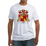 Lebon Family Crest  Fitted T-Shirt