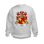 Lebon Family Crest  Kids Sweatshirt