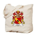 Lebon Family Crest  Tote Bag