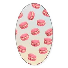 Pink macaroon graphic Decal